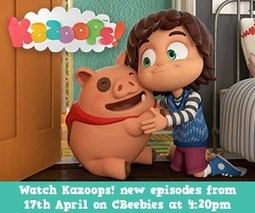 Kazoops – New TV show coming to Cbeebies Monday 17th April – mumdadplus4