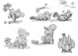 Characters, Props, Environments
