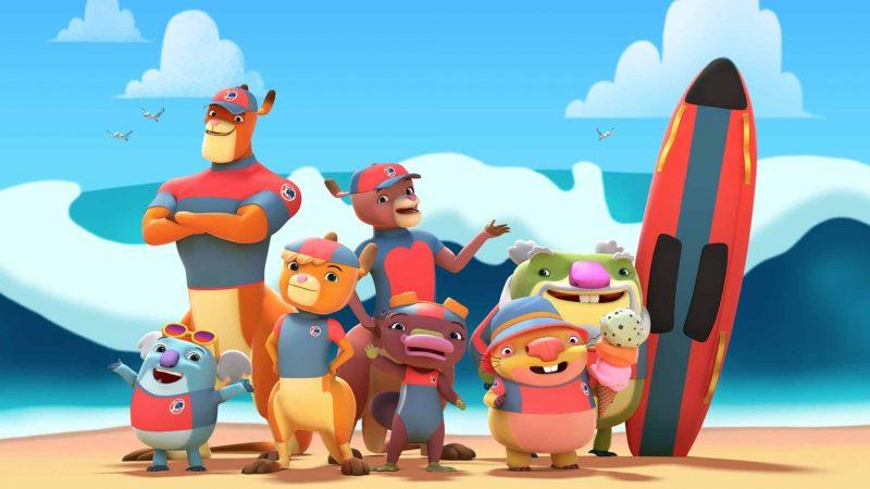 New Australian kids animation series KANGAROO BEACH launches today on ABC