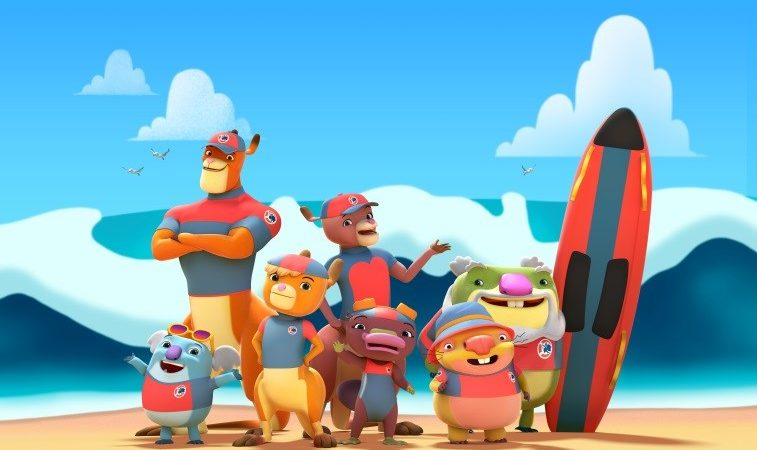 Surf's up this summer as new animated series Kangaroo Beach comes to the UK's Nick Jr.!